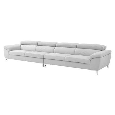 costa sofa costa white oversized sofa el dorado furniture