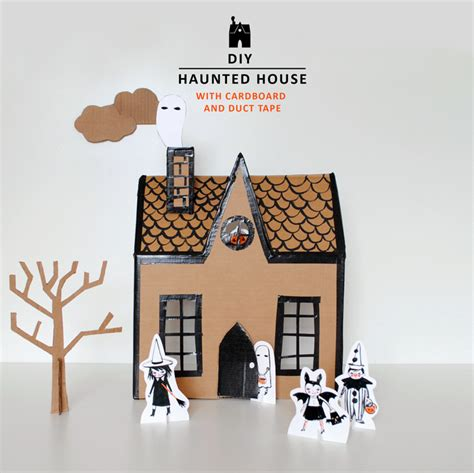 How To Make A Haunted House Out Of Paper - diy haunted house mer mag