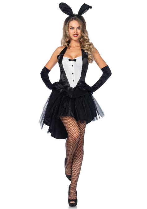 The Bunnyshop Costume 2006 by 3pc Tux And Tails Bunny Costume Includes Tuxedo Top