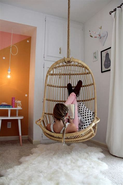 Egg Chair Swing Inspiration Chambre D Adolescente Cocon De D 233 Coration