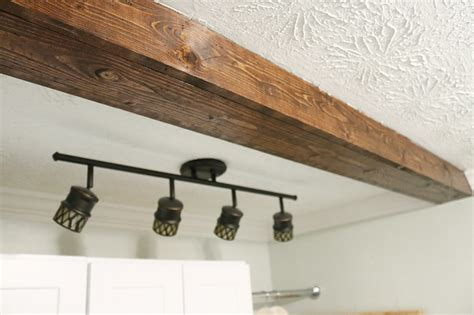 faux beams how to diy a faux wooden ceiling beam bower power