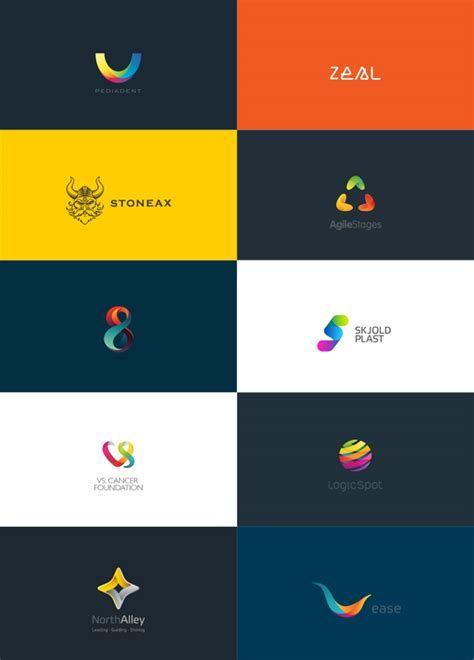 design inspiration color colorful logo designs by maria gr 248 nlund