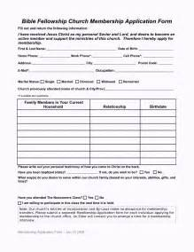 Membership Form Template Pdf by Church Membership Forms Template Ebook Database