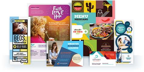 graphic design flyer layouts stocklayouts graphic design templates brochures flyers