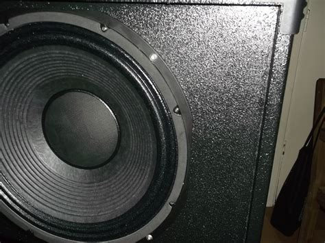 Speaker Cabinet Texture Paint by Painting With Tuff Cab Speakerplans Forums