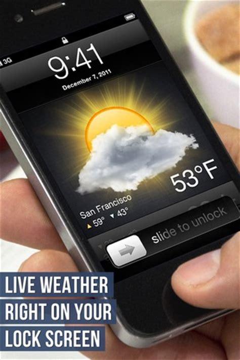 iphone pattern lock screen without jailbreak lock screen weather display local weather on iphone lock