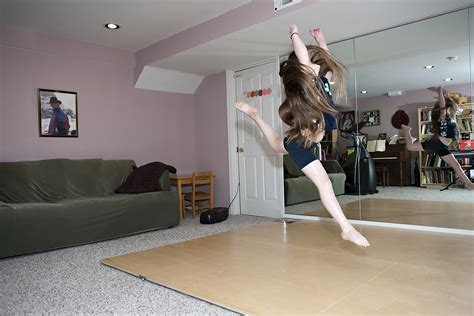 studio floor exles of home dance studio portable sprung floors