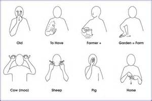 makaton sign language cake ideas designs