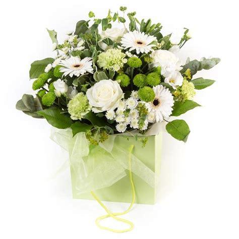 Gift Letter Ellie Mae Lime White Gift Bag Ellie Mae Florists Benfleet