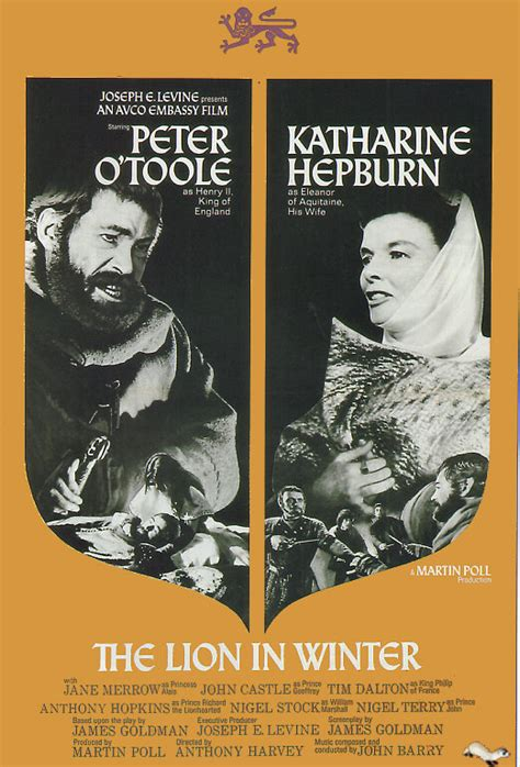 film when the lion feeds movie the lion in winter 1966