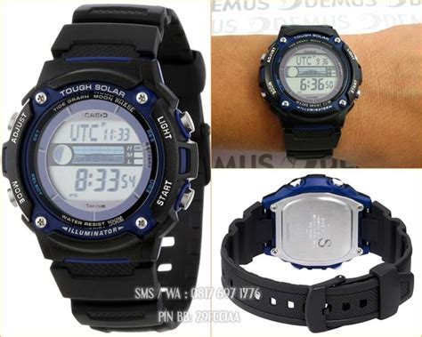 Casio Original W S210h 1a promo jam casio solar power original casio indonesia