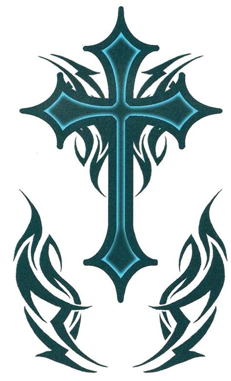 tribal cross tattoos for guys best 25 cross shoulder tattoos ideas on cross