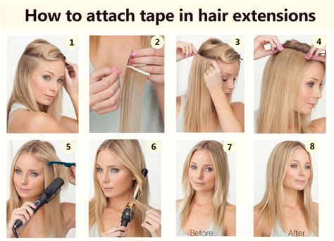 hairstyles to hide tape extensions 10 30 inch brazilian remy tape in hair extensions 1b
