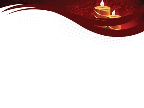christmas layout ppt christmas bulbs and candles powerpoint templates