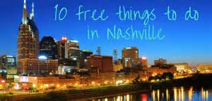 Nashville To 10 Free Things To Do In Nashville