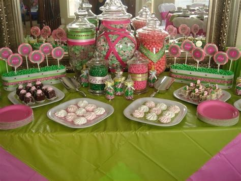 candy buffet pink green candy buffet candy sweets
