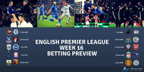 epl week 12 premier league week 16 betting preview derby sunday