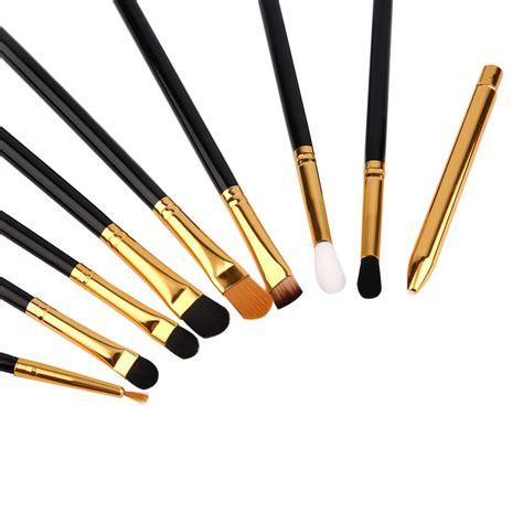 Diskon Mac Make Up Brush Murah 5 Set Maquiagem Brush Make Up 15 Set Black Gold