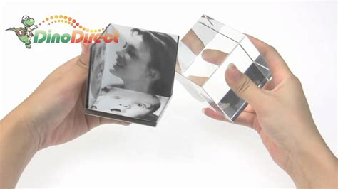 Stainless Steel Cube 4pcs Es Batu Stainless 2010 cube photo frame with stainless steel holder from dinodirect