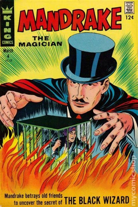 the magician s books mandrake the magician 1966 king comic books