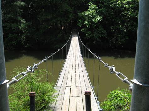 bridge swinging swinging bridge episcopal traveler s weblog
