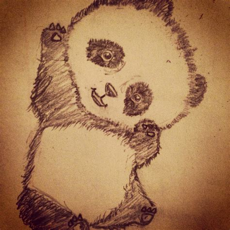 drawing themes ideas 12 8 13 pencil drawing panda sketch hands on