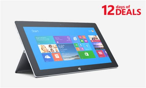 microsoft surface 2 on sale december 14 in us and canada