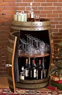 Diy Mini Bar Cabinet 25 Brilliant Diy Ways Of Reusing Wine Barrels Amazing Diy Interior Home Design