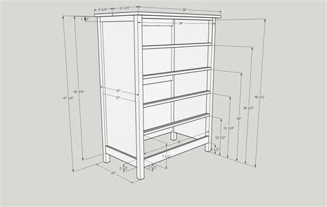 Dresser Measurement by Dresser Plan Grvland