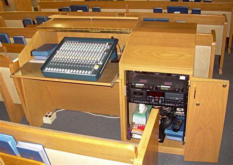 church audio equipment