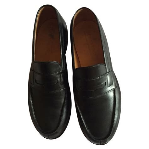 loafers slip ons jm weston loafers slip ons loafers slip ons leather black