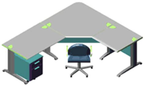 scrivanie ufficio dwg scrivanie 3d