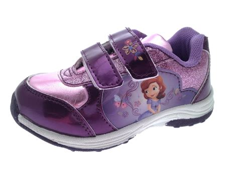 size 11 sports shoes disney princess sofia glitter trainers skate sports