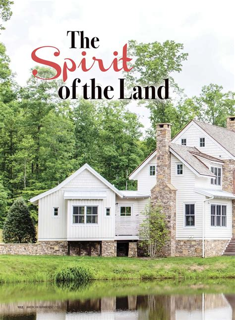 american farmhouse style cottages and bungalows magazine american farmhouse style