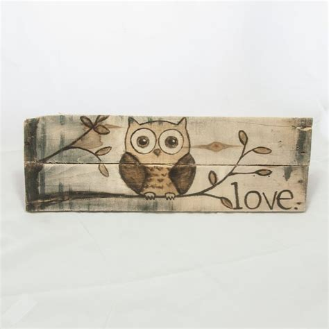 owl decor childrens gifts signs home decor rustic by 1000 ideas about rustic girl nurseries on pinterest