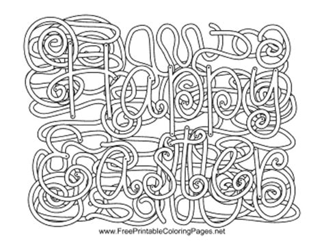 coloring pages with hidden words easter hidden word coloring page