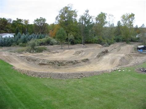 Backyard Motocross Track Designs by 25 Best Ideas About Motocross Tracks On