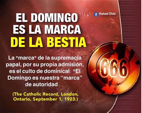 libro el domingo de las la marca de la bestia es el domingo remanente adventista