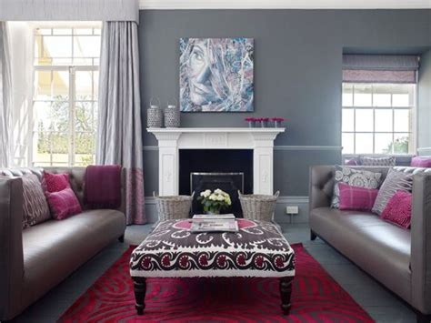 grey and pink living room ideas grey raspberry living room gray