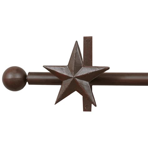 Star Curtain Rod Rod Holders
