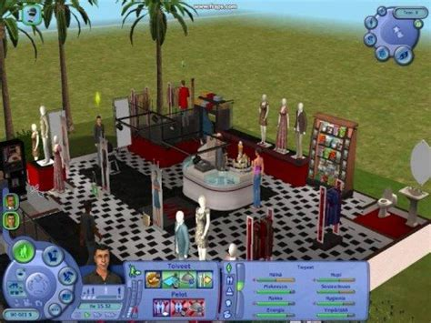 the sims 2 open for business clothes shop youtube