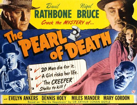 cover girl 1944 classic movie review sherlock holmes and the pearl of death 1944 daily