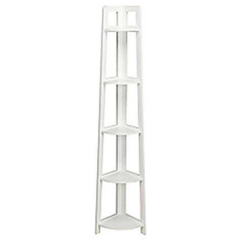 White Bathroom Shelving Unit Buy Sheringham White Wood 5 Tier Corner Shelving Unit From Our Bathroom Standing Cabinets