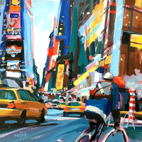 acrylic painting nyc paintings by patti mollica