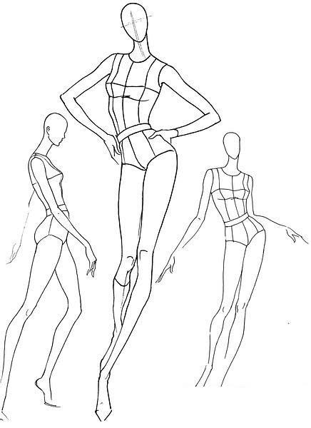 figure base plantillas base figurines de moda poses de movimiento