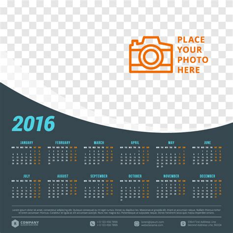 calendar design 2015 vector free download dark blue shape calendar 2016 vector free vector graphic
