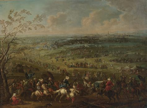 Ottoman Siege Of Vienna File August Querfurt The Turkish Siege Of Vienna Jpg