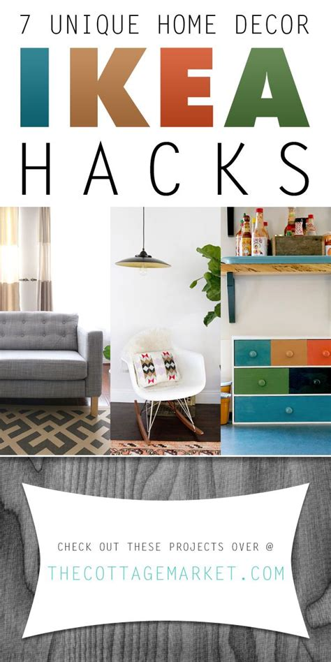 home design hacks 7 unique home decor ikea hacks the cottage market ikeahacks ikea ikeandiyprojects do it
