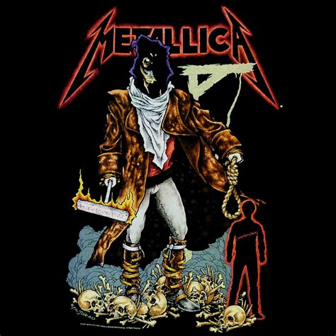 Kaos Metalic The Unforgiven Black metallica on