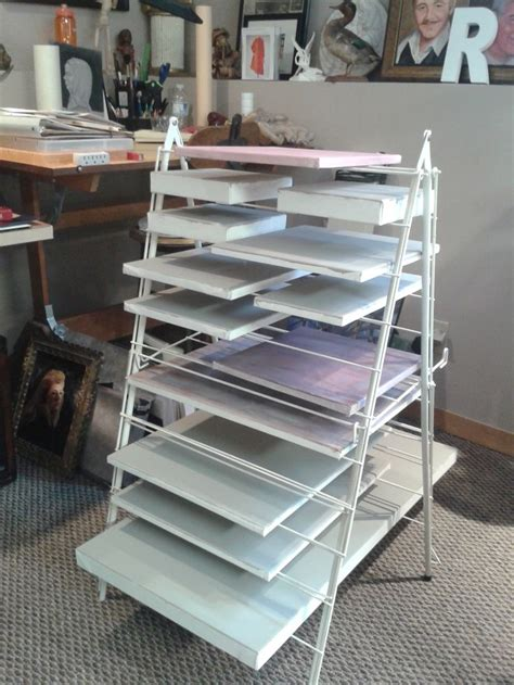 Canvas Drying Rack by Best 25 Studio Organization Ideas On
